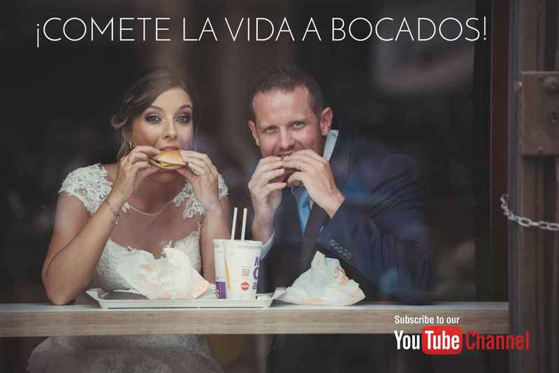 subscripción canal youtube video boda wedding trailer